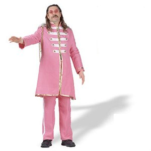 60S Musician Pink Adult Costume Xl Click to enlarge